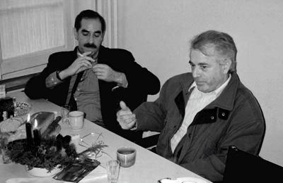 Feri Khanlari und Gottfried Baumann